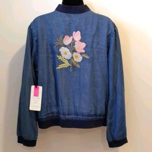NWT California Moonrise denim jacket mediu…